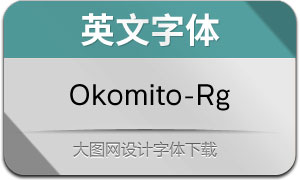 Okomito-Regular(英文字体)