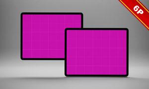平板电脑产品原型素材样机模板素材