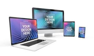 苹果与安卓系数码产品原型样机素材