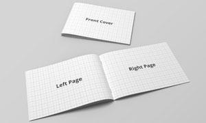 杂志画册封面与内页部分贴图源文件
