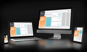 应用程序在多终端上的效果贴图模板