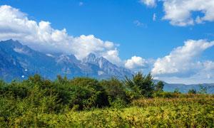泸沽湖风景区美丽风光摄影图片