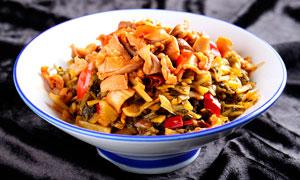 脆肚下饭菜美食菜品摄影图片