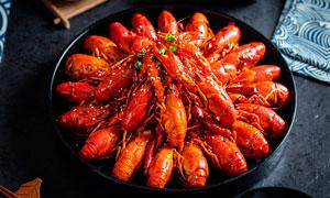 香辣小龙虾美食高清摄影图片