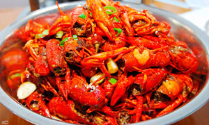 麻辣小龙虾美食高清摄影图片