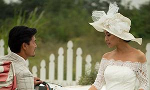 拍摄婚纱照的帅哥美女摄影高清原片