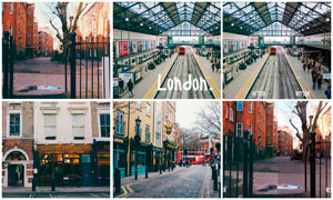 伦敦建筑照片后期处理LR预设