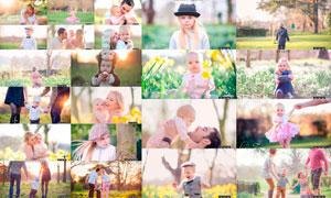 欧美家庭照片波西米亚色调LR预设