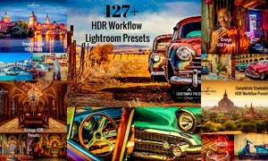 127款高質量HDR藝術效果LR預設合集