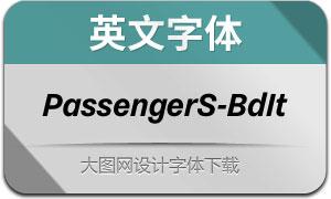 PassengerSans-BoldItalic(英文字体)