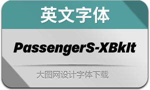 PassengerSans-ExtrabkIt(英文字体)