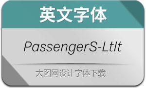 PassengerSans-LightIt(英文字体)