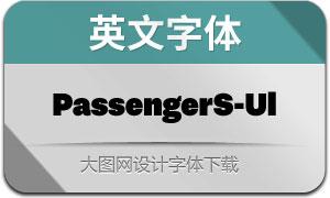 PassengerSans-Ultra(英文字体)