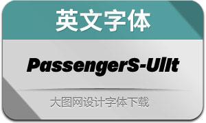 PassengerSans-UltraIt(英文字体)