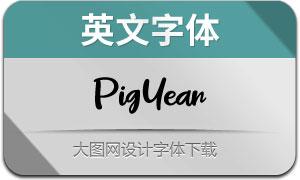 PigYear(英文字体)