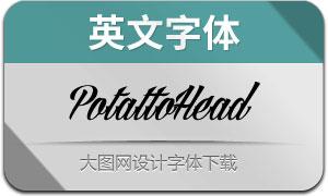PotattoHead(英文字体)
