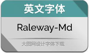 Raleway-Medium(英文字体)