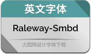 Raleway-SemiBold(英文字体)