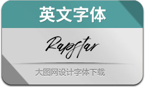 Rapstar-Regular(英文字体)