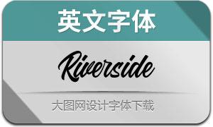 Riverside(英文字体)