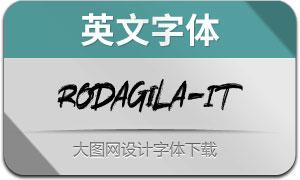 Rodagila-Italic(英文字体)