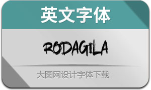 Rodagila(英文字体)