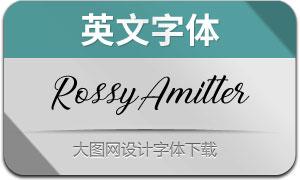 RossyAmitter(英文字体)