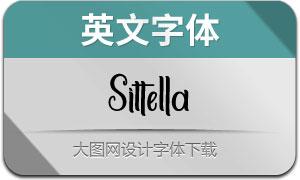 Sittella(英文字体)