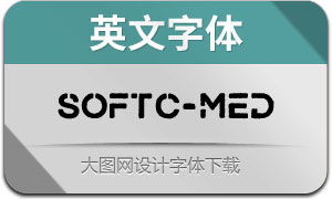 SoftClouds-Medium(英文字体)