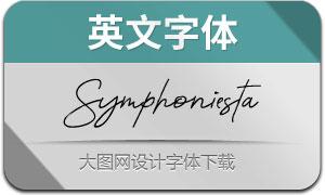Symphoniesta(英文字体)