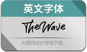 TheWave(英文字体)