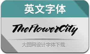 TheFlowerCity(英文字体)