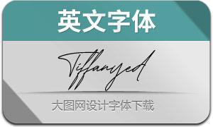 Tiffanyed(英文字体)