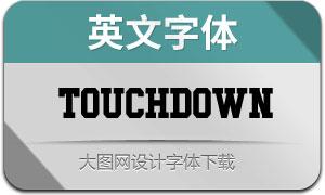 TouchdownFont(英文字体)