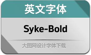 Syke-Bold(英文字体)