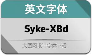 Syke-ExtraBold(英文字体)