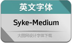 Syke-Medium(英文字体)