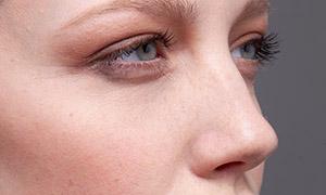 高鼻梁的欧美模特人物摄影原片素材