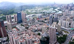 深圳美丽的建筑群景观摄影图片