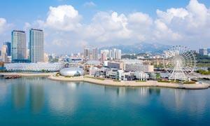 青岛西海岸风光美景摄影图片