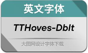 TTHoves-DemiBoldItalic(с╒ндвжСw)