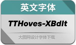 TTHoves-ExtraBoldItalic(с╒ндвжСw)