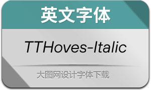 TTHoves-Italic(с╒ндвжСw)