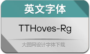 TTHoves-Regular(英文字体)