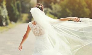 仙气飘逸人物外景婚纱摄影高清图片
