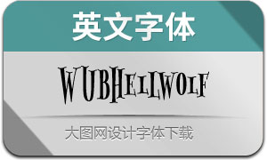 WUBHellwolf(英文字体)