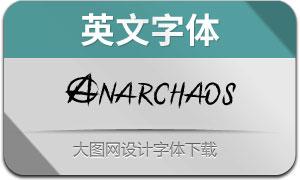 Anarchaos(英文字体)