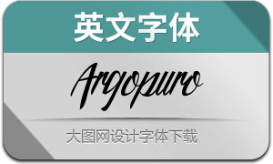 ArgopuroScript(英文字体)
