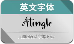 Atingle(英文字体)