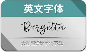 BargettaScript(英文字体)